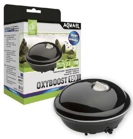 113119 AQUAEL Компрессор OXYBOOST 150 plus (100-150л) с регулятором производительности, 150л/ч, Потр.мощн.-2,2Вт, 18шт/уп.