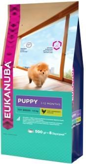 EUK Dog корм для щенков миниатюрных пород 500 г
