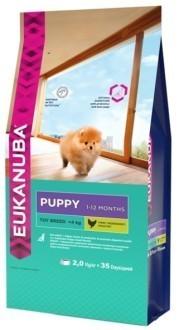 EUK Dog корм для щенков миниатюрных пород 2 кг