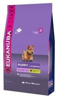EUK Dog корм для щенков мелких пород 10 кг