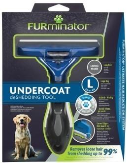 Фурминатор FURminator для крупных собак с длинной шерстью