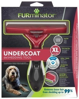 Фурминатор FURminator для гигантских собак с длинной шерстью