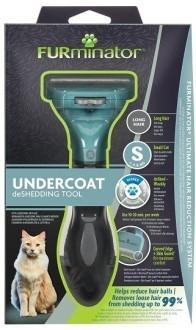 Фурминатор FURminator для маленьких кошек c длинной шерстью