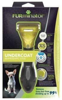 Фурминатор FURminator для карликовых собак с короткой шерстью