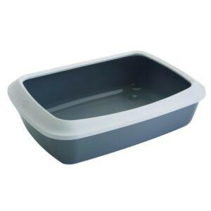 """11130 Туалет """"Rich"""" д/кошек с рамкой на защёлках 40,5*30*14 /6"""