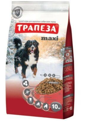 ТРАПЕЗА МАКСИ сухой корм для взрослых собак крупных пород