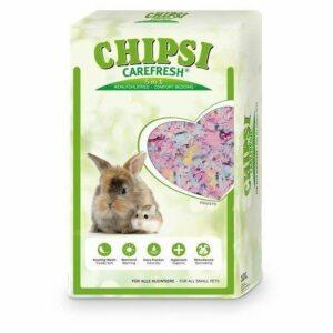 CHIPSI CAREFRESH Confetti  разноцветный бумажный наполнитель для мелких домашних животных и птиц