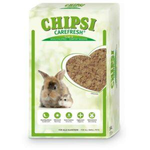 CHIPSI CAREFRESH Original бумажный наполнитель для мелких домашних животных и птиц