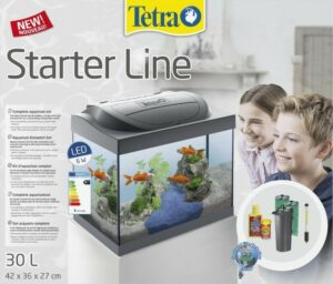 Tetra Starter Line LED Goldfish аквариум для золотых рыбок