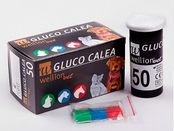 Intervet Тест полоски ветеринарные Wellion Gluco Calea
