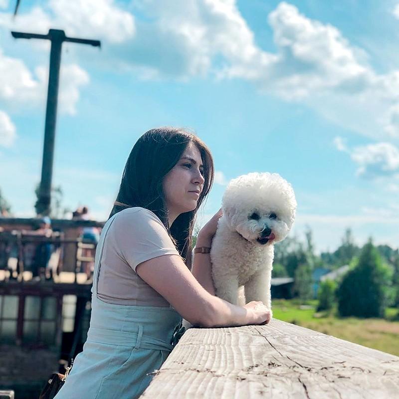 Луминара Ундули с Хозяйкой Марией