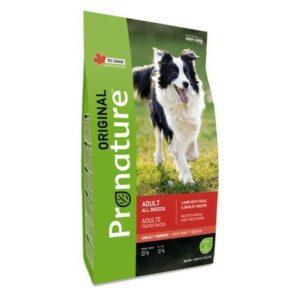 Pronature Original сухой корм для собак всех пород ягненок (крупная гранула)