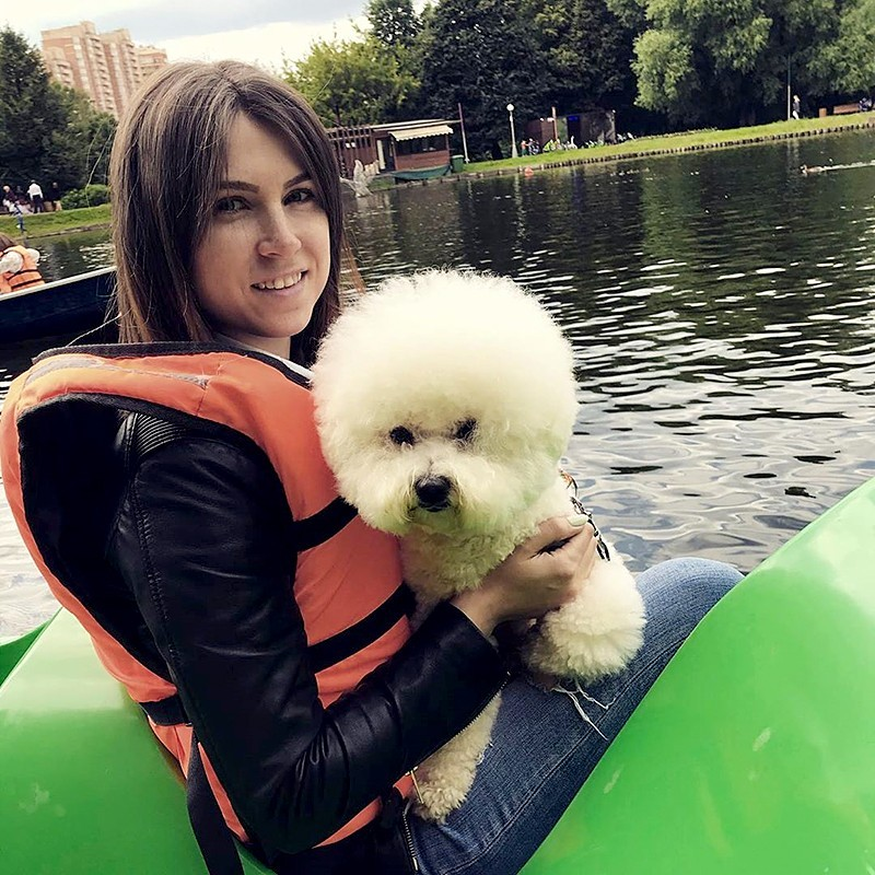 Луминара Ундули с Хозяйкой Катей