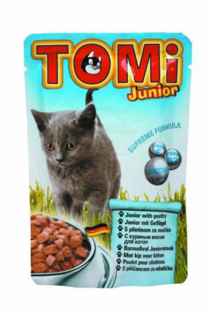 """""""TOMI"""" консервы для котят-пауч"""
