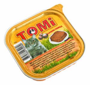"""""""TOMI"""" консервы для кошек птица с печенью"""