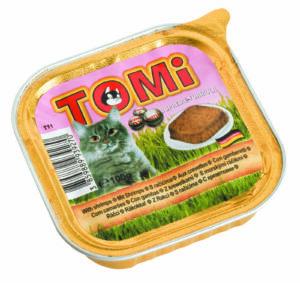 """""""TOMI"""" консервы для кошек с креветками    Германия"""