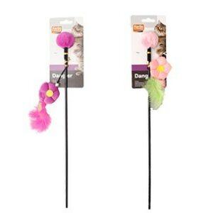 Karlie-Flamingo Игрушка д/кошек дразнилка с цветком
