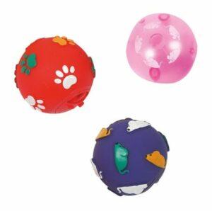 Flamingo  Игрушка д/к мяч д/лаком. 5