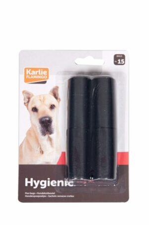 Flamingo   Гигиенические мешки для собак 4*15 шт.  (уп 6шт)
