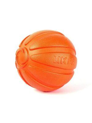 LIKER Мячик Лайкер, диаметр 7см, оранжевый