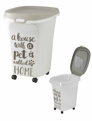 Moderna Pet Wisdom контейнер для корма серый