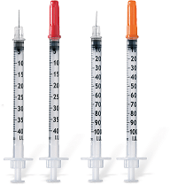B.Braun Шприц инсулиновый 3-х комп. Омникан U100