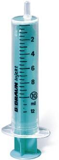 B.Braun Шприц 2-х комп. Инжект 10 мл, Люэр, игла 0,8x40 мм