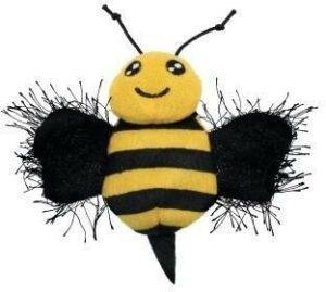 KONG игрушка для кошек Better Buzz Пчела, хрустит, с кощачьей мятой