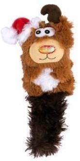 """KONG Holiday игрушка для кошек """"Кикеру"""" олень, с кошачьей мятой"""
