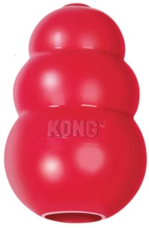 """KONG Classic игрушка для собак """"КОНГ"""" M средняя"""