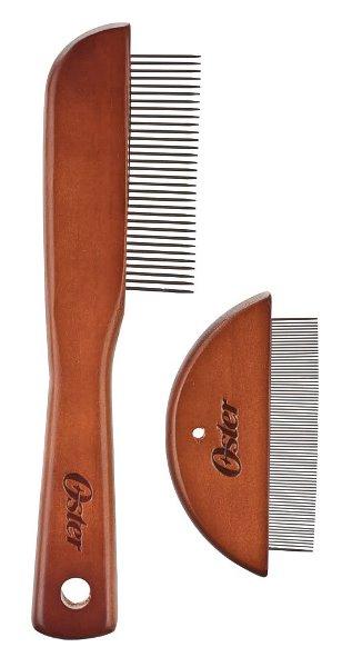 OSTER Premium Comb Set набор деревянных расчесок для вычесывания колтунов