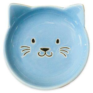 КерамикАрт блюдце керамическое Мордочка кошки 80 мл