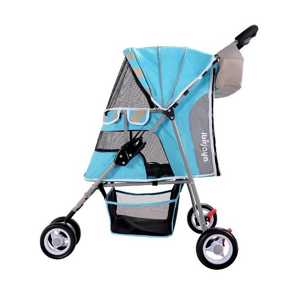 Ibiyaya коляска New I-Cute Pet Buggy голубая
