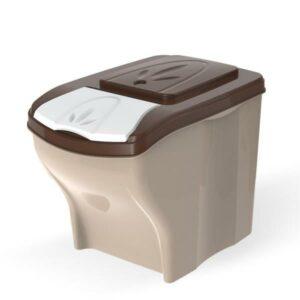 BAMA PET контейнер для хранения корма POKER  в комплекте, бежевый