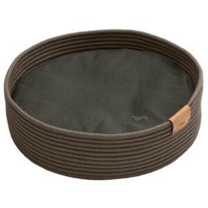 Hunter корзина-софа для собак Graz плетение, темно-серый