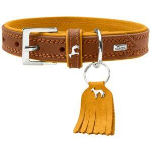 Hunter ошейник для собак Lucca  кожа, коричневый