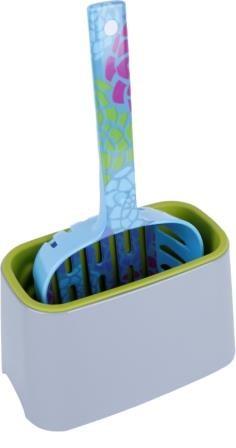 SuperDesign бокс очиститель для совков серый