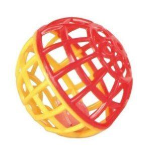 TRIXIE  игрушка для попугая пластиковый шарик с колокольчиком