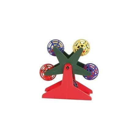 TRIXIE 4 см игрушка для попугая карусель с шариками 1х4