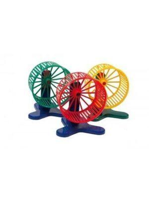 ДАРЭЛЛ  колесо для грызунов с подставкой пластиковое большое