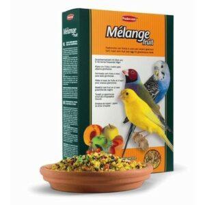 PADOVAN MELANGE fruit 300 гкорм лакомый нежный фруктово-яичный для декоративных и экзотических птиц при смене оперения 1х12