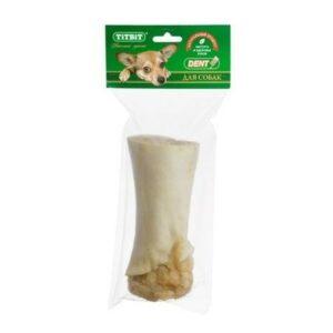 TITBIT 379 г голень говяжья для собак полипропиленовый пакет 1х25