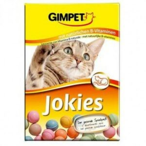 GIMPET Jokies 200 г 400 г витаминизированные шарики для кошек 1х6