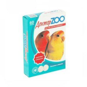 Доктор ZOO 60 таблеток витамины для птиц