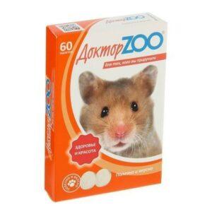 Доктор ZOO 60 таблеток витамины для грызунов