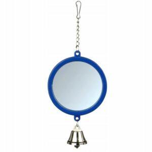 TRIXIE 7.5 см зеркало с колокольчиком 1х4