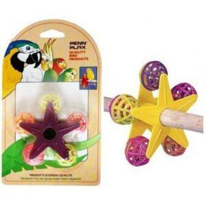 PENN-PLAX ЗВЕЗДОЧКА С ПОГРЕМУШКАМИ игрушка для птиц 1х12