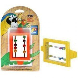 PENN-PLAX ЗЕРКАЛО С БУСИНКАМИ игрушка для птиц 1х12