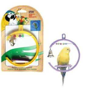 PENN-PLAX качели для птиц со счетами и колокольчиком