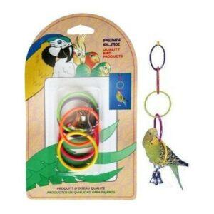PENN-PLAX ОЛИМПИЙСКИЕ КОЛЬЦА игрушка для птиц малые1х12